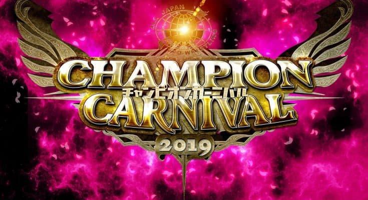 WATCH AJPW Champion Carnival 2019 Day 1/2/3/4/5/6/7/8/9/10
