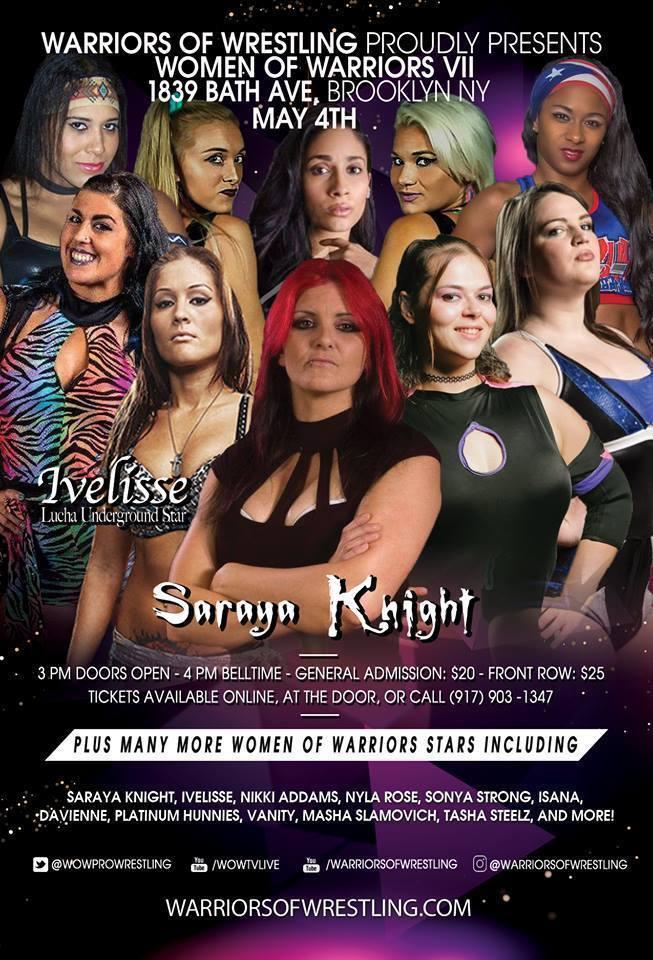 Women of Warriors Wrestling VII
