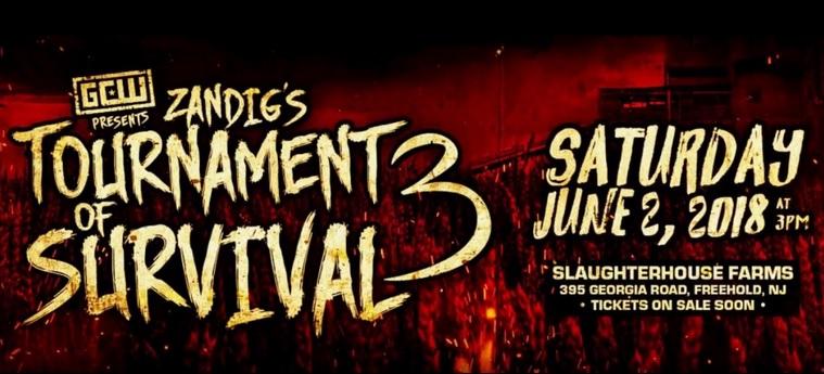 GCW TOS 2018 - Zandig - Tournament Of Survival 3 - Wrestling