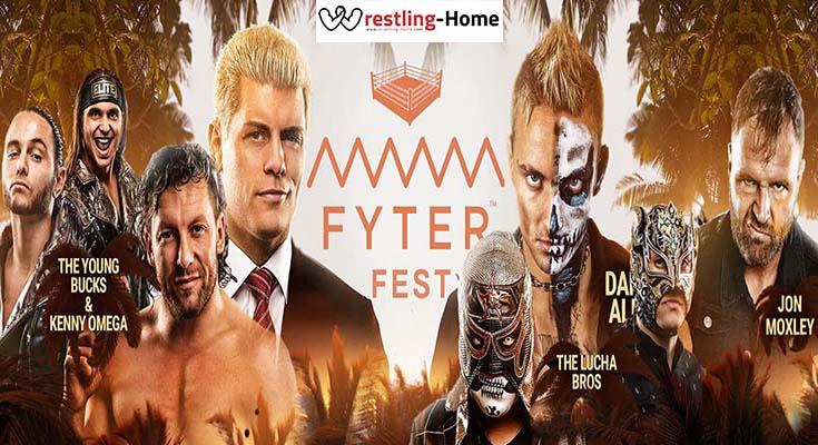 WATCH AEW Fyter Fest 2019