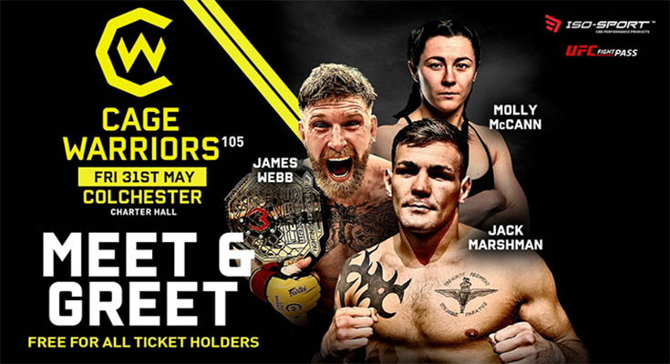 WATCH Cage Warriors 105