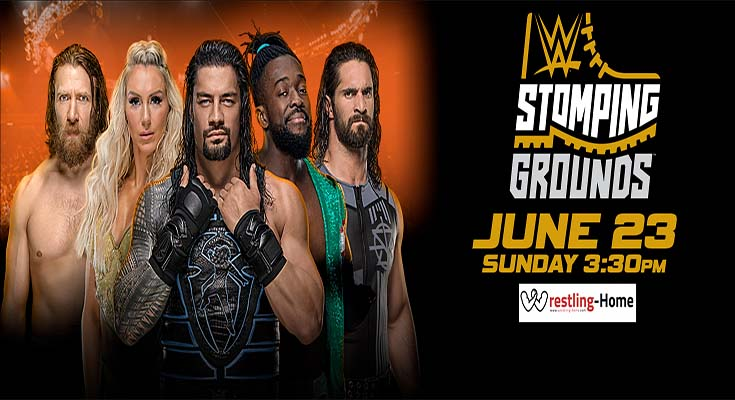 WWE Stomping Grounds 2019 PPV 720p WEB h264-HEEL
