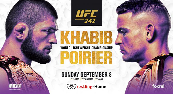 WATCH UFC 242 FULL EVENT