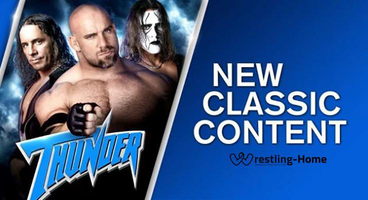 WWE Network Drop WCW Thunder 2019 09 16