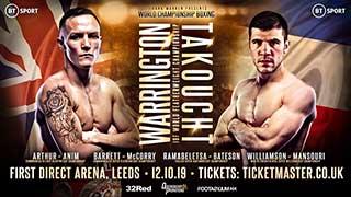 Boxing 2019 10 04 Leigh Wood Vs. David Oliver Joyce  720p