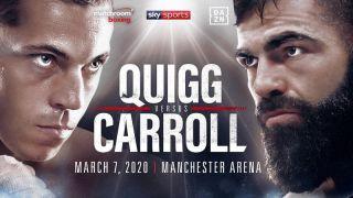 Boxing Quigg vs Carroll Full Event 1080i HDTV