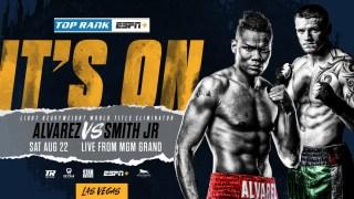Top Rank Boxing Eleider Alvarez vs Joe Smith Jr 2020
